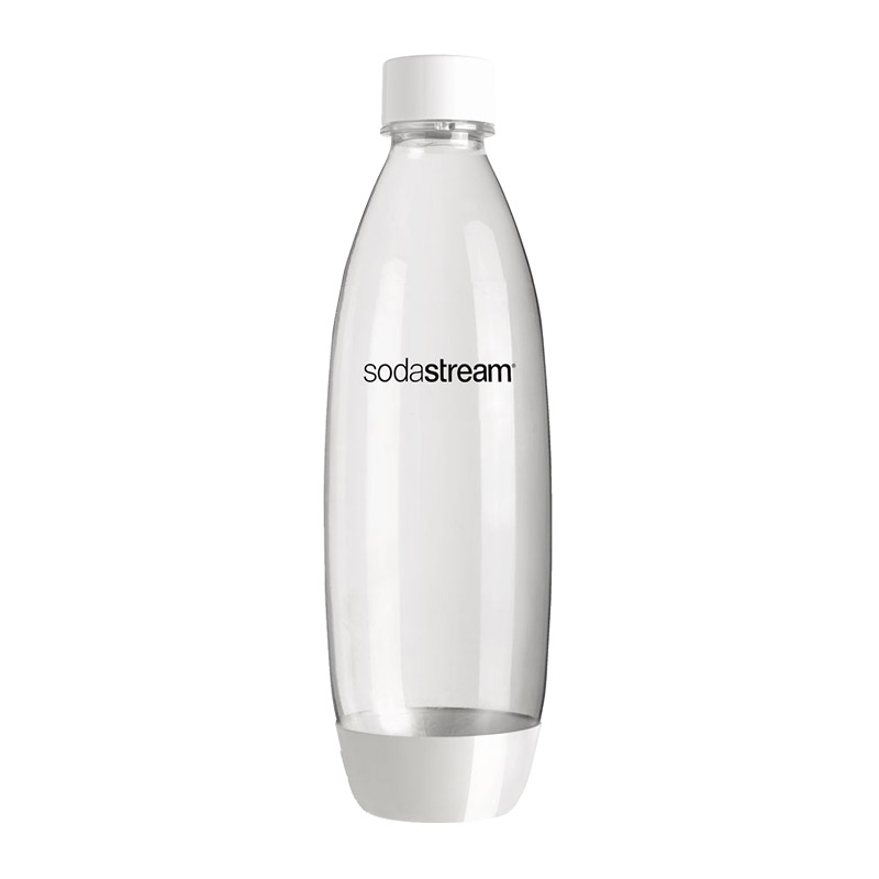 Botella SodaStream 1L Blanca